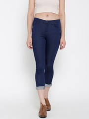 SPYKAR Women Blue Skinny Fit Mid-Rise Clean Look Jeans