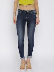 SPYKAR Women Blue Skinny Fit Jeans
