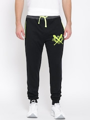 John Players Black Track Pants