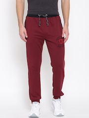 John Players Maroon Track Pants