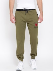 John Players Olive Green Track Pants