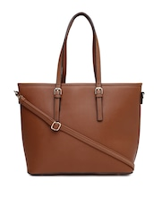 Mast & Harbour Brown Tote Bag