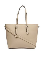 Mast & Harbour Beige Tote Bag
