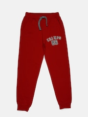 Indian Terrain Boys Red Track Pants
