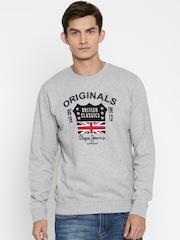 Pepe Jeans Grey Melange Sweatshirt
