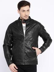 Pepe Jeans Black Biker Jacket