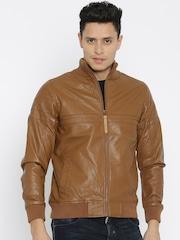 Pepe Jeans Brown Rider Jacket