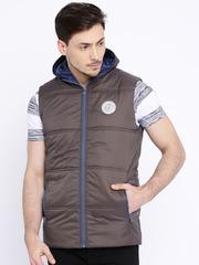 Pepe Jeans Grey Puffer Sleeveless Jacket