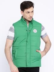 Pepe Jeans Green Sleeveless Padded Jacket