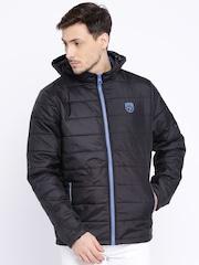 Pepe Jeans Black Hooded Puffer Jacket