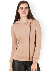Texco Beige Hooded Jacket