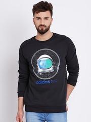 Adidas NEO Black FL SPCEMN Printed Sweatshirt