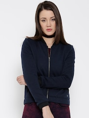 Flying Machine Navy Quilted Jacket