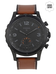Fossil Men Black Q Nate Hybrid Smart Watch FTW1114