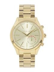 Michael Kors Women Gold-Toned Hybrid Smart Watch MKT4002