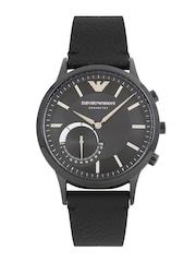 Emporio Armani Men Navy & Black Connected Hybrid Smart Watch ART3004
