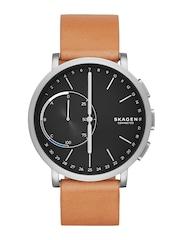 SKAGEN Men Black Connected Hybrid Smart Watch SKT1104
