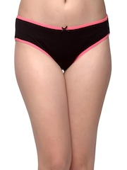 Clovia Women Black Briefs PN0877P13