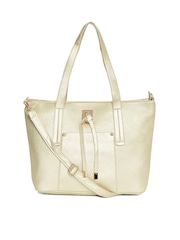 red pout Cream-Coloured Shoulder Bag with Sling Strap