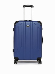 Pronto Unisex Blue Protec 4 W Spinner 68 Large Trolley Bag