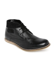 Knotty Derby Men Mid-Top Derby Shoes