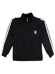 SWEET ANGEL Girls Black Fleece Sweatshirt