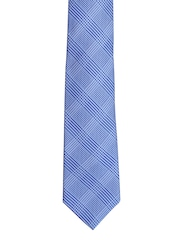 Tossido Blue Checked Tie