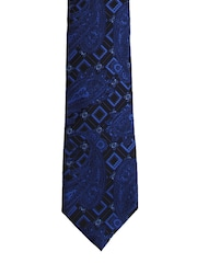 Tossido Blue Paisley Patterned Tie