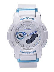 Casio Baby-G Women Off-White Analogue & Digital Multifunction Watch BX074