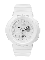 Casio Baby-G Women White Analogue & Digital Multifunction Watch BX076