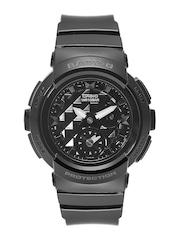 Casio Baby-G Women Black Analogue & Digital Multifunction Watch BX075