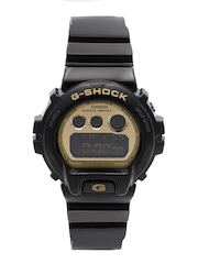CASIO G-Shock Men Gold-Toned & Black Multifunction Digital Watch G265