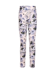 CUTECUMBER Girls Multicoloured Floral Print Leggings