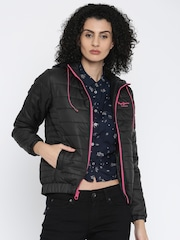 Pepe Jeans Black Puffer Jacket