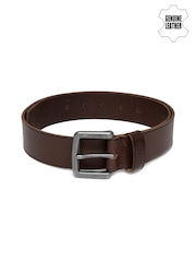 Levis Men Brown Genuine Leather Belt
