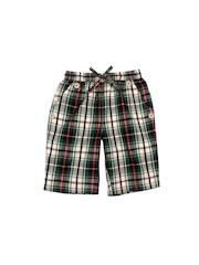 ShopperTree Boys Multicoloured Checked 3/4th Length Shorts