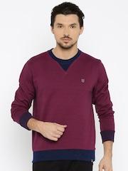 Lee Burgundy Sweatshirt