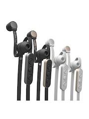 Jays Four+ Black & Silver-Toned iOS Earphones
