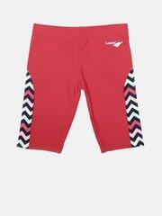 LOBSTER Boys Red Chevron Print Swim Shorts 4058333102980