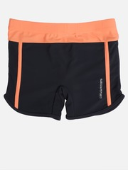 LOBSTER Boys Black & Peach-Coloured Swim Shorts 4058333107428