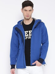 Monte Carlo Blue Hooded Sweatshirt