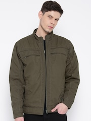 Monte Carlo Olive Green Jacket