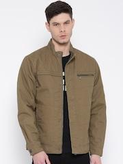 Monte Carlo Olive Brown Jacket