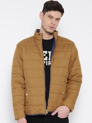 Monte Carlo Brown Quilted Jacket