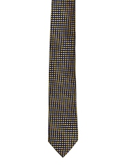 Tossido Navy & Yellow Patterned Tie