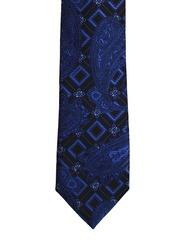Tossido Blue & Black Tie