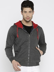 Fort Collins Charcoal Grey Hooded Sweatshirt