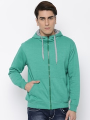 Fort Collins Green Hooded Sweatshirt