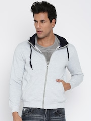Fort Collins Grey Hooded Sweatshirt