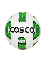 COSCO Unisex Off-White & Green Delta Force Printed Football